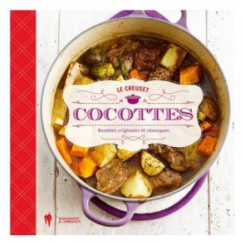 livre de cuisine cocottes le creuset tout en cocottes cuisin 39 store. Black Bedroom Furniture Sets. Home Design Ideas